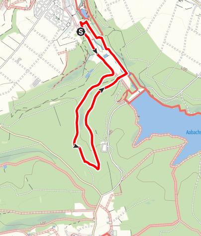 Karte / Naturerlebnis-Route