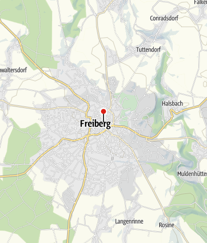 Karte / Nikolaikirche Freiberg - Konzert- und Tagungshalle
