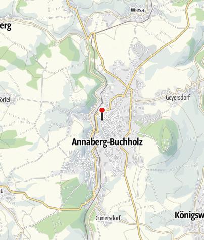 Karte / Geschäftsstelle Freie Presse Annaberg