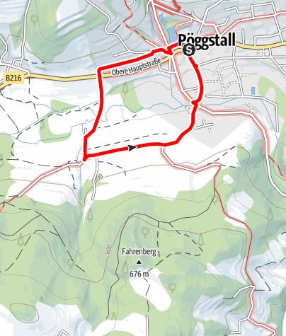 Mapa / Spazierweg Laas