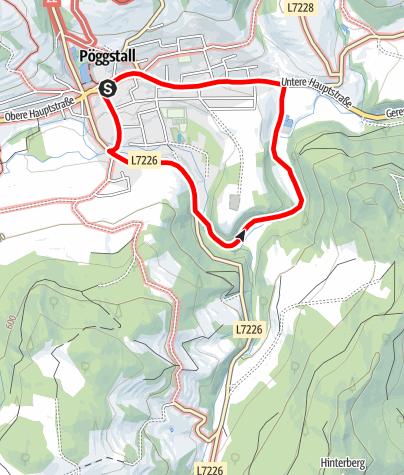 Mapa / Rundwanderweg St. Anna