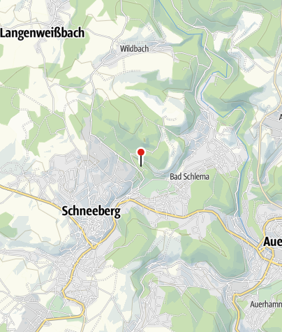 Karte / Camping Silberbach- Bad Schlema