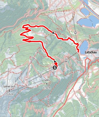Map / Matschwitz - Mularietschweg