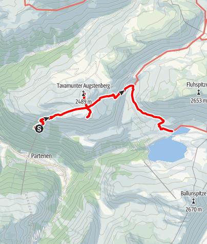 Map / Tafamunt - Versalspitze