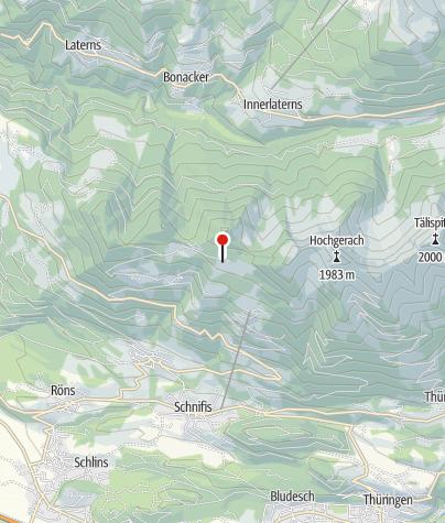 Karte / Dünser Älpele