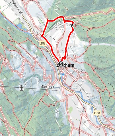 Karte / Gaschurn - Abenteuerspielplatz