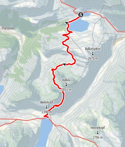 Karte / Vallülaweg
