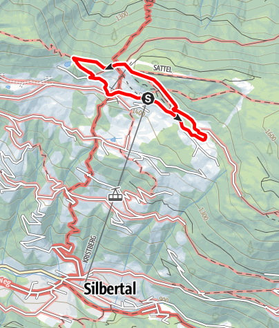 Karte / Silberpfad Kristberg