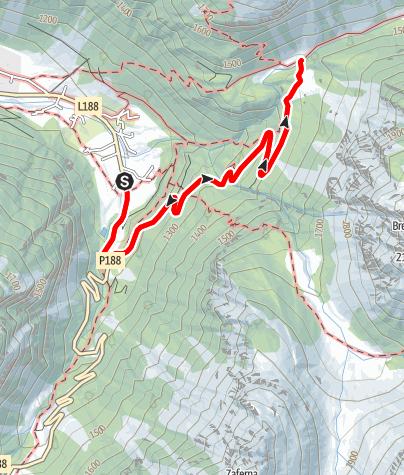 Karte / Partenen - Ganifer