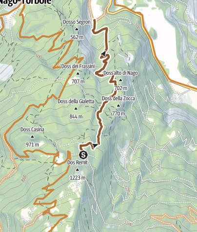 Karte / DH Val del Diaol