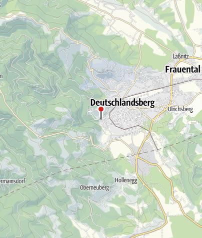 Karte / VeloVital E-Bike Verleih JUFA Deutschlandsberg