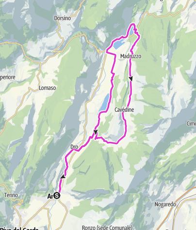 Cartina / Lago e Valle di Cavedine