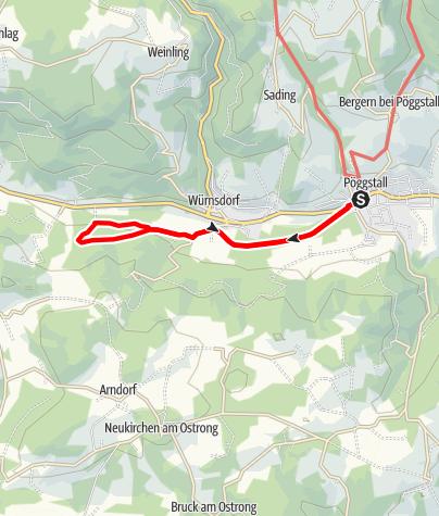 Mapa / Bachwiesenweg