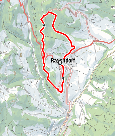 Mapa / Kreuzriedel-Rundweg