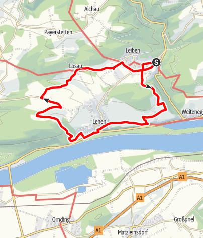 Térkép / Marterlweg