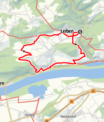 Mapa / Marterlweg