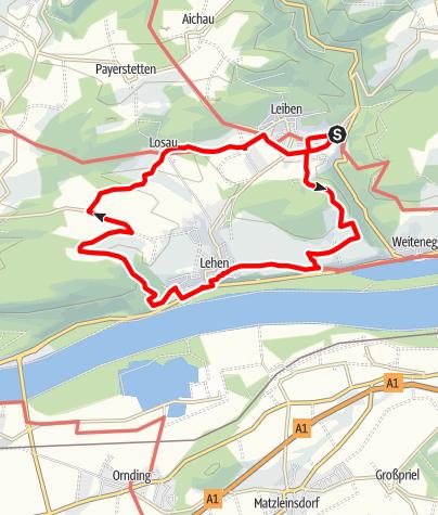 Karte / Marterlweg
