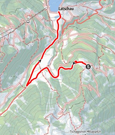 Map / Grabs - Sanüel - Latschau