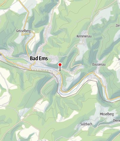 """Karte / Die Bäderlei mit den Heinzelmannshöhlen – die """"malerischsten Felsen der Welt"""""""