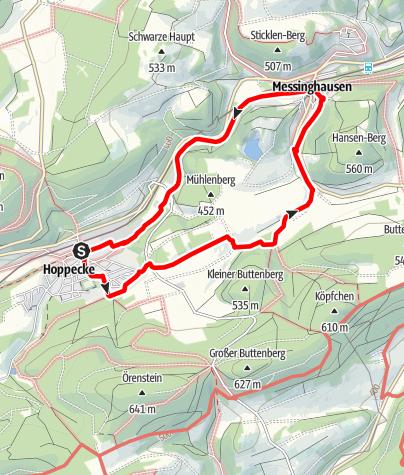 Karte / Brilon-Hoppecke (H3)