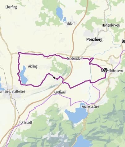 Karte / Riegseerunde