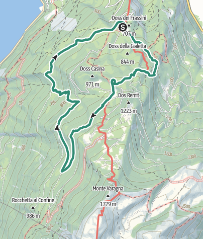 Map / The Great War: The Memorial Trail