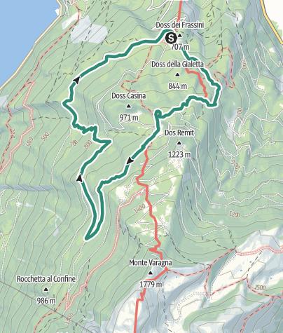 Karte / Der Große Krieg: Der Sentiero della Memoria