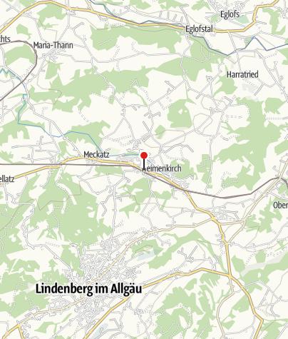 Karte / Lourdes-Grotte