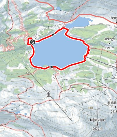 Karte / Kops - Seerundweg