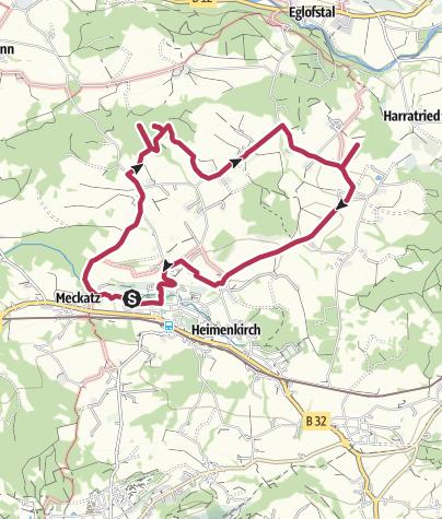 Karte / Wandern mit Geschichte >>> Weg 3