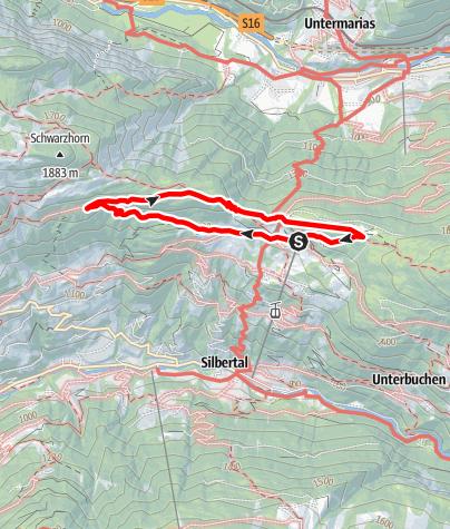 Karte / Kristberg Rundweg