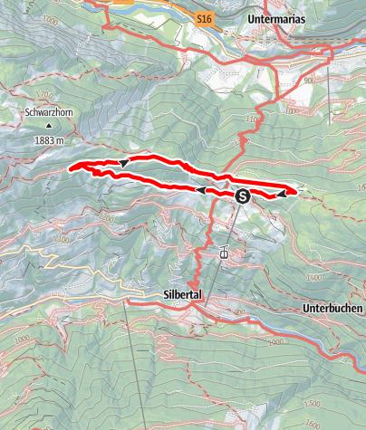 Map / Kristberg Rundweg