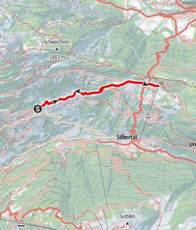 Map / Innerberg - Kristberg
