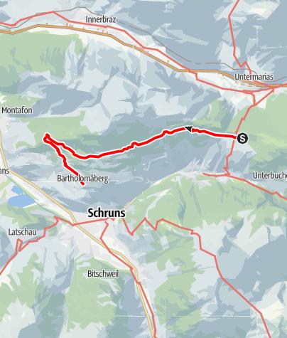 Karte / Kristberg - Rellseck