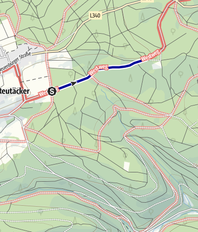 Karte / Engel-Weg Dobel
