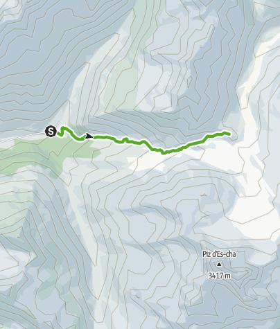 Karte / Mit Spiertin auf den Spuren der Eiszeit