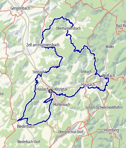 Karte / Der Große Hansjakobweg