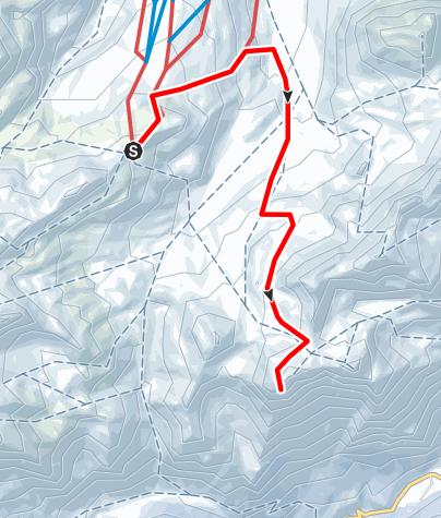 Karte / Piz dal Sasc 2720 m ü.M. (Lunghinpass)