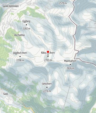 Karte / Rätschenhorn