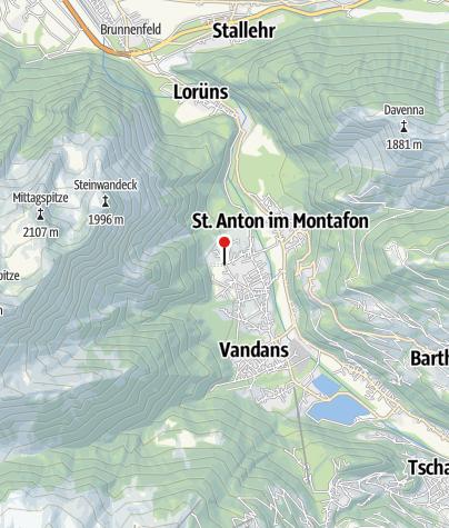Karte / Gluandigraba und Ganeu