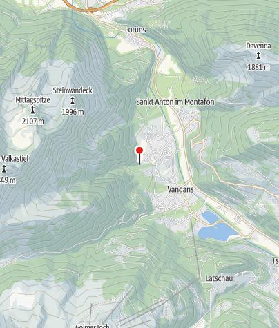 Karte / Beim Scheibenkopf