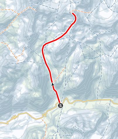 Map / Piz Surgonda 3196 m ü.M.