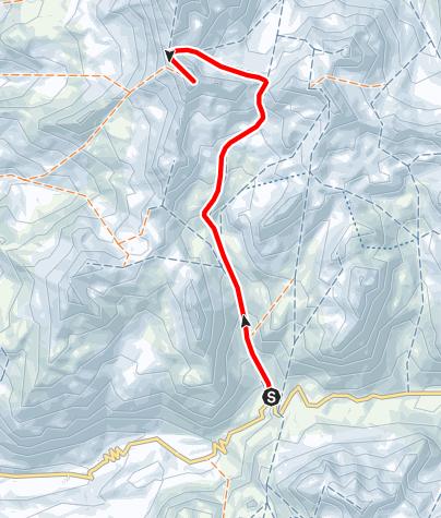 Kaart / Piz d'Agnel 3205 m ü.M.