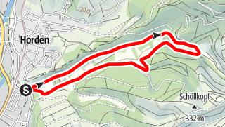 Karte / Walking-Tour durchs Laufbachtal