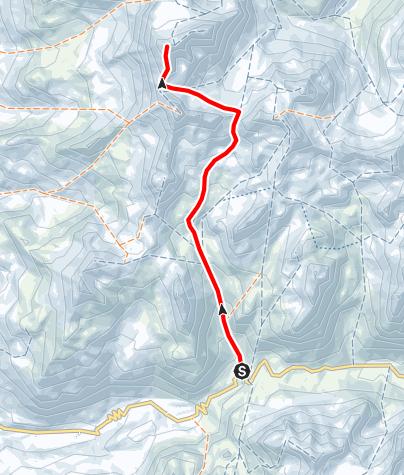 Karte / Tschima da Flix 3301 m ü.M.