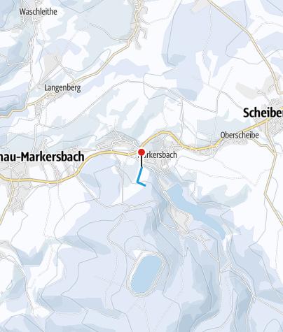 Karte / Markersbach