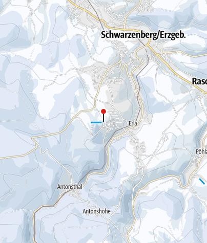 Karte / Schwarzenberg / Bermsgrün