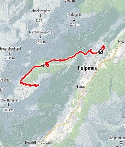 Map / Schlickeralmlauf (lange Strecke)