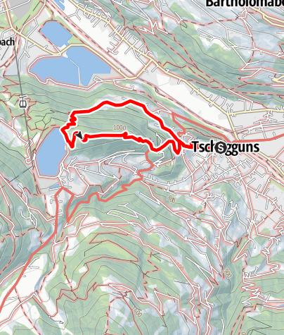 Karte / Tschagguns - Latschau - Kristakopf - Tschagguns