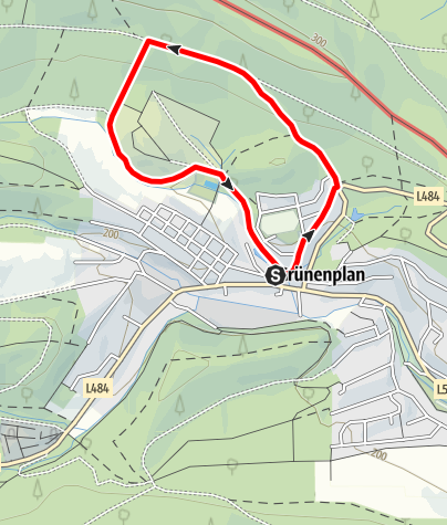Karte / Apfelbergweg (Gr 6)